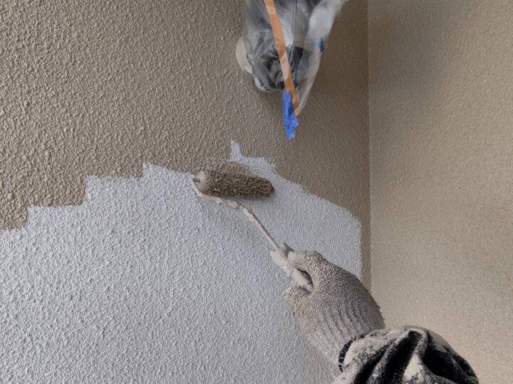 ⑥外壁上塗り 一回目