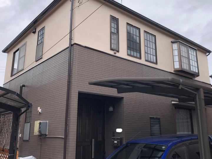 広島市安佐南区大町西 H様邸 外壁塗装・屋根塗装工事