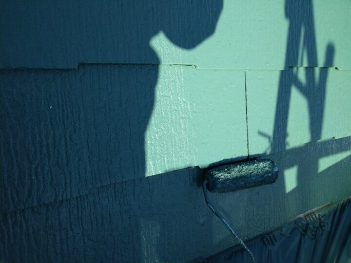 ⑩屋根上塗り 二回目