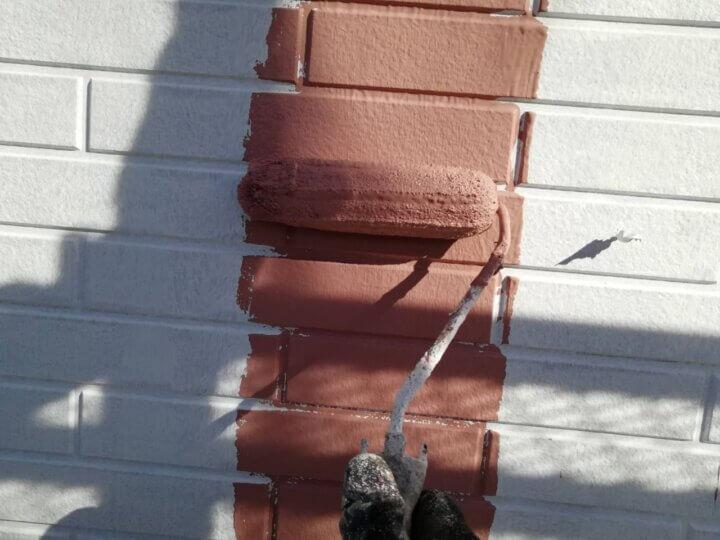 ⑭外壁上塗り 一回目