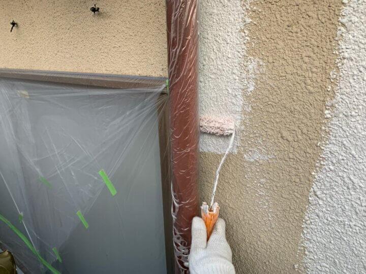 ⑦外壁下塗り