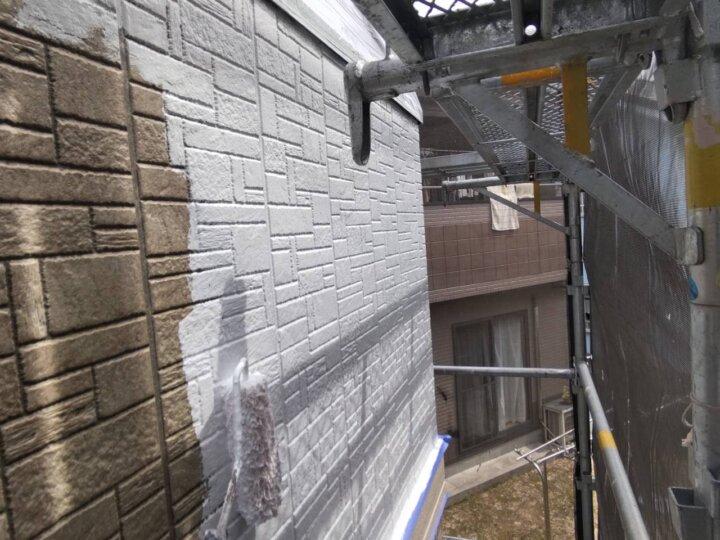 ⑭外壁下塗り(SR-413)