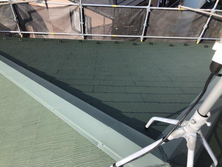 ④屋根瓦葺き(屋根葺き替え工事)