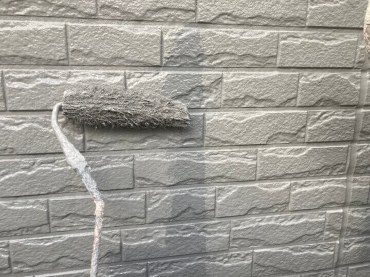 ⑯外壁上塗り 二回目