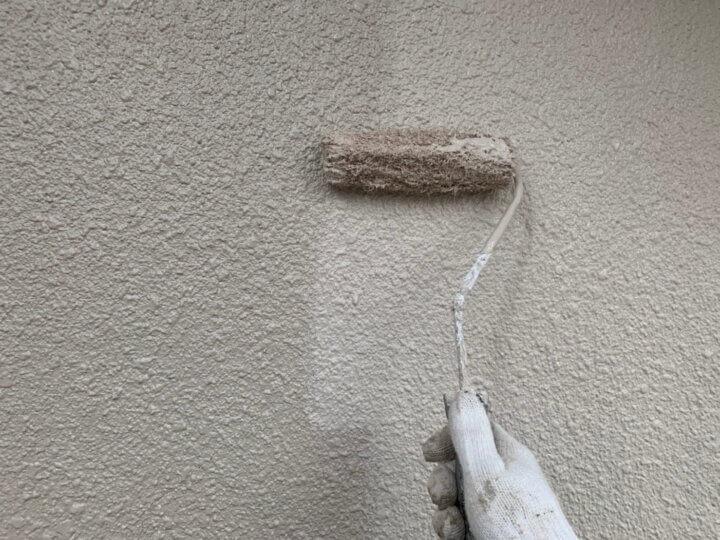 ⑨外壁上塗り 二回目
