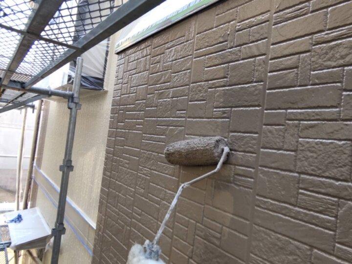 ⑯外壁上塗り二回目(SR-413)