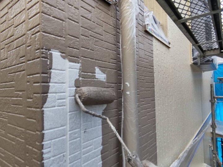 ⑮外壁上塗り一回目(SR-413)