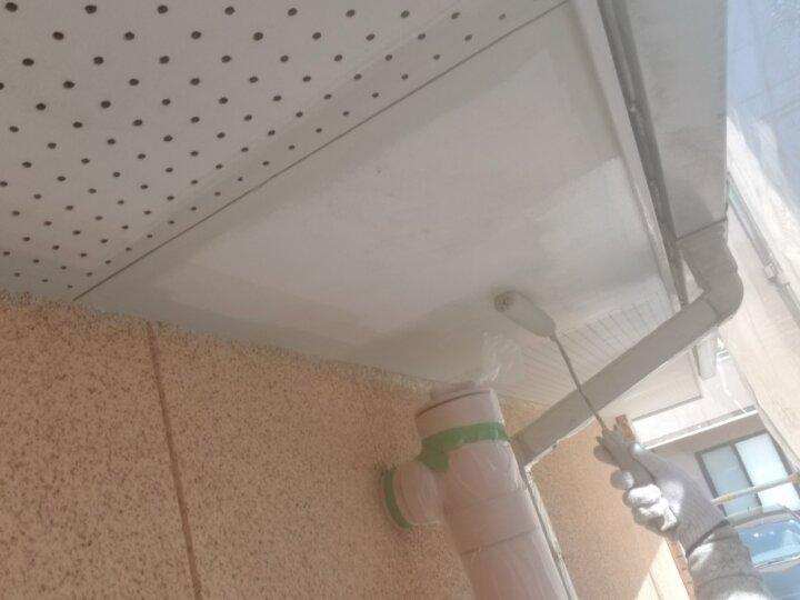 ④軒天塗装 一回目