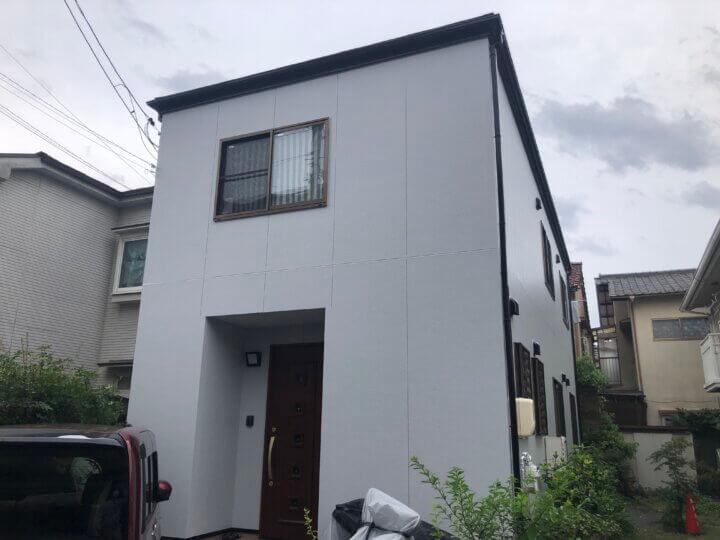 広島市南区翠 I様邸 外壁塗装・屋根塗装工事