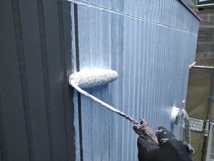 ⑮外壁下塗り