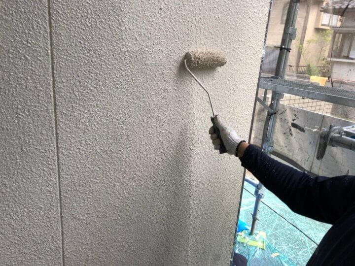 ⑩外壁上塗り 二回目