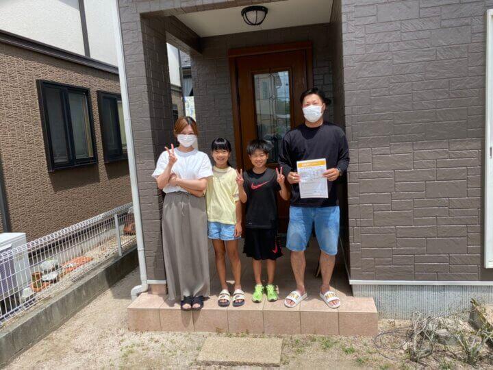 お客様の声を頂きました 広島市佐伯区石内南 K様邸 l 広島の外壁塗装・屋根塗装専門店 クリーンペイント