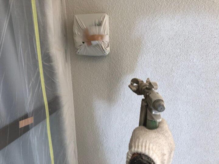 ⑦外壁中塗り