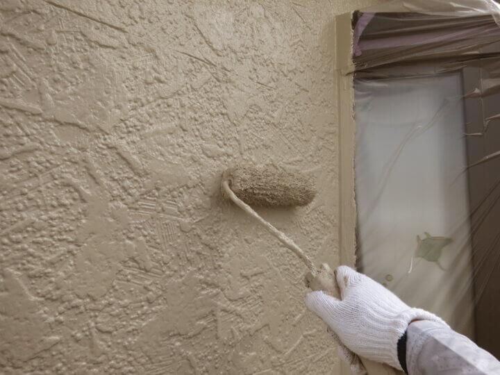 ⑫外壁上塗り二回目(SR-168)