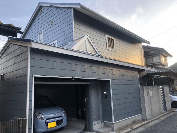 広島市西区己斐大迫 F様邸 外壁塗装・屋根塗装工事