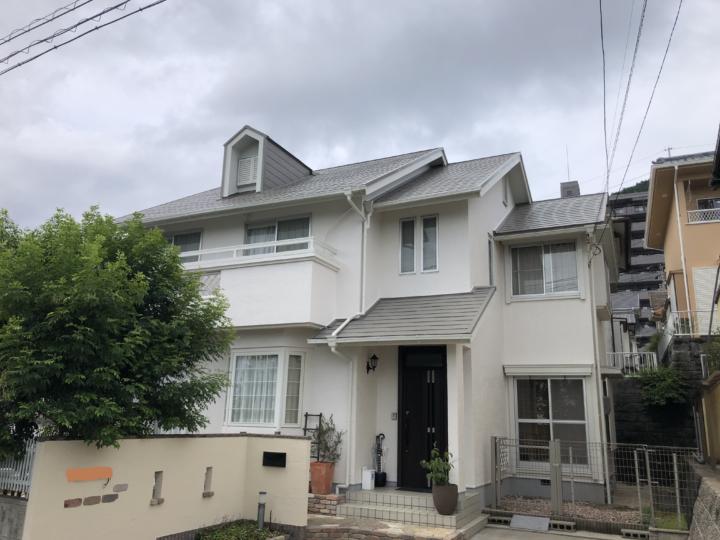 広島市西区井口台 T様邸 外壁塗装・屋根塗装工事