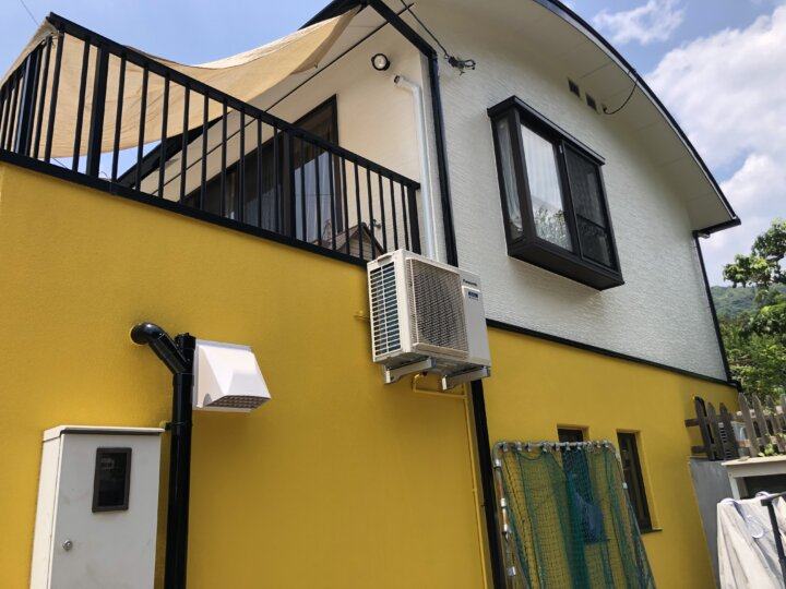 広島市西区己斐上 N様邸 外壁塗装・屋根塗装工事