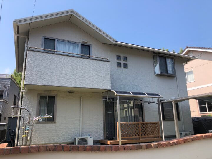 広島市佐伯区石内南 M様邸 外壁塗装・屋根塗装工事