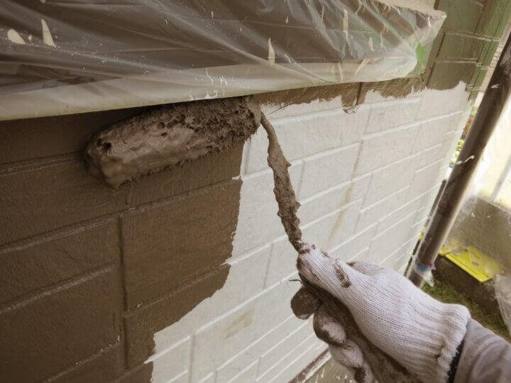 ⑬外壁上塗り一回目(SR-414)