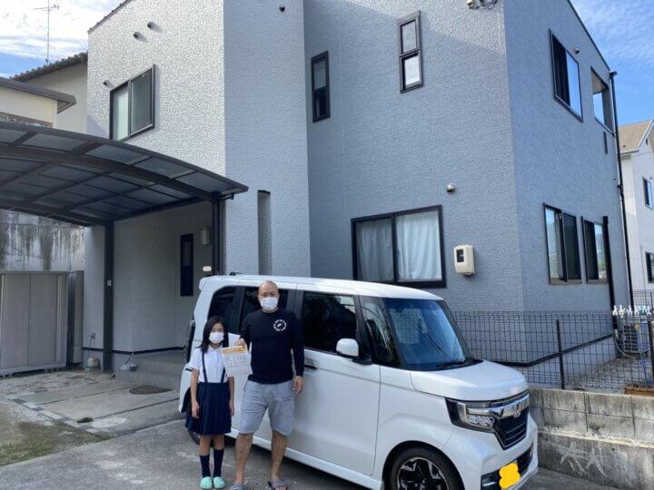 お客様の声を頂きました 廿日市市峰高 K様邸 l 広島の外壁塗装・屋根塗装専門店 クリーンペイント
