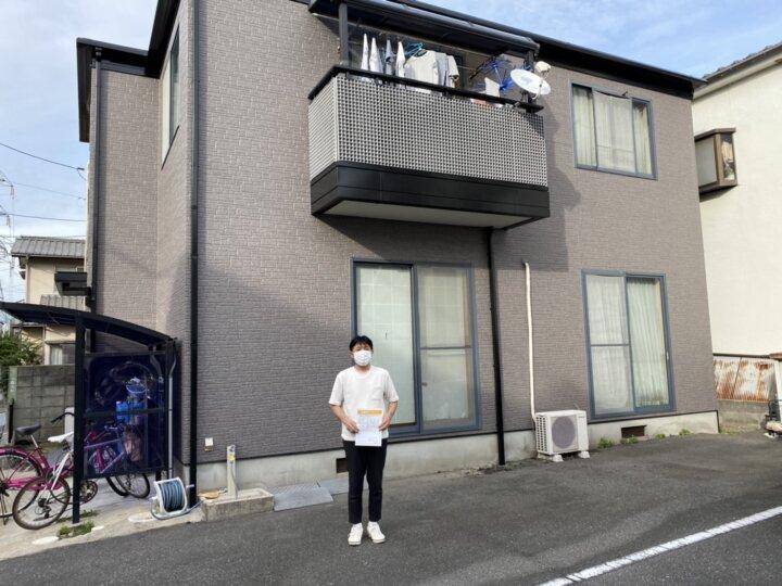 お客様の声を頂きました 広島市西区三篠北町 T様邸 l 広島の外壁塗装・屋根塗装専門店 クリーンペイント