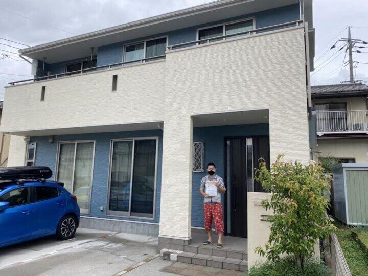 お客様の声を頂きました 広島市安芸区瀬野 S様邸 l 広島の外壁塗装・屋根塗装専門店 クリーンペイント