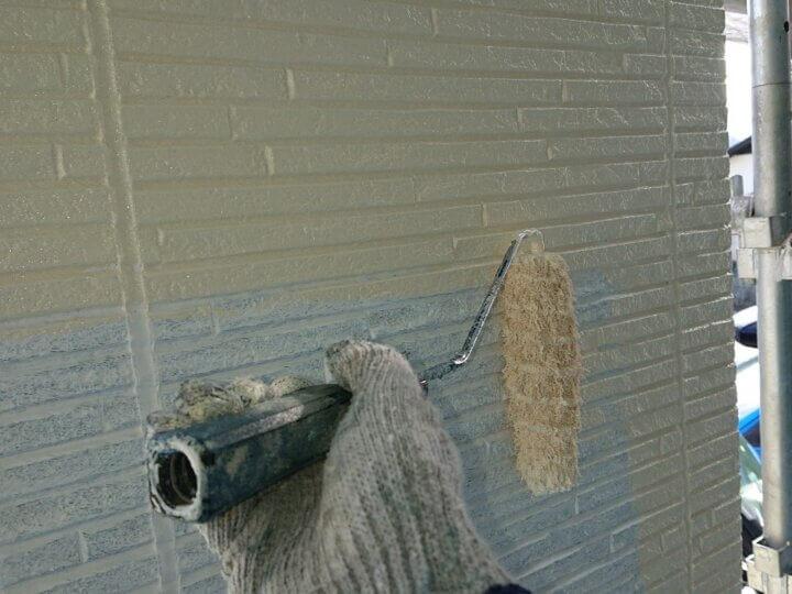 ⑱外壁上塗り 一回目(SR-178)