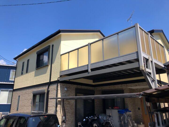 広島市佐伯区五日市町上河内 N様邸 外壁塗装・屋根塗装工事