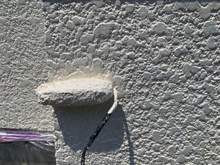 ⑮外塀上塗り 二回目