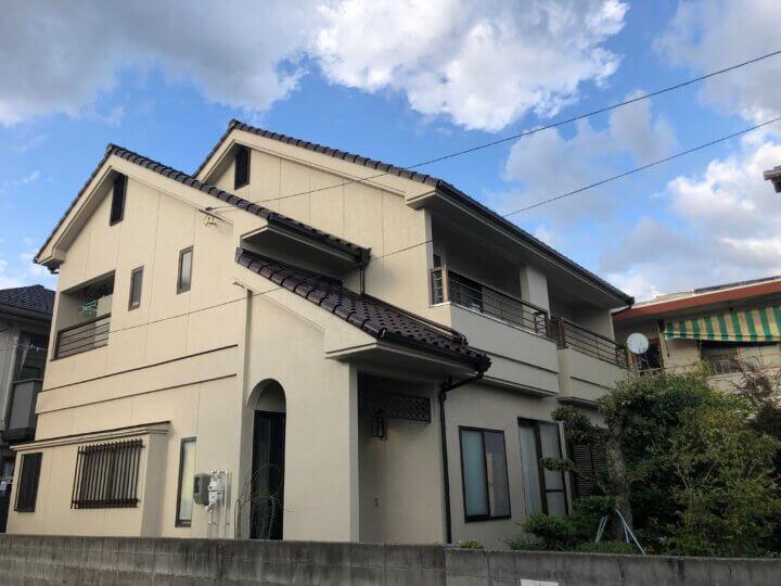 広島市西区古江新町 U様邸 外壁塗装・屋根葺き替え工事