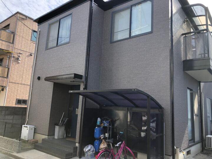 広島市西区三篠北町 T様邸 外壁塗装・屋根塗装工事