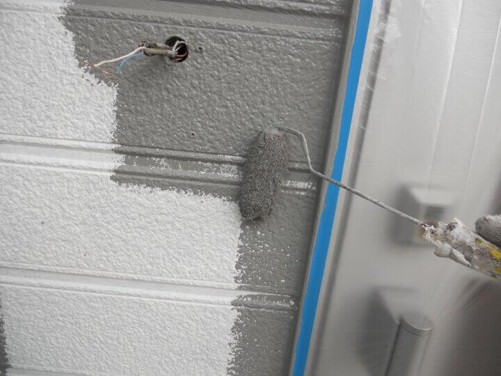 ⑮外壁上塗り 一回目